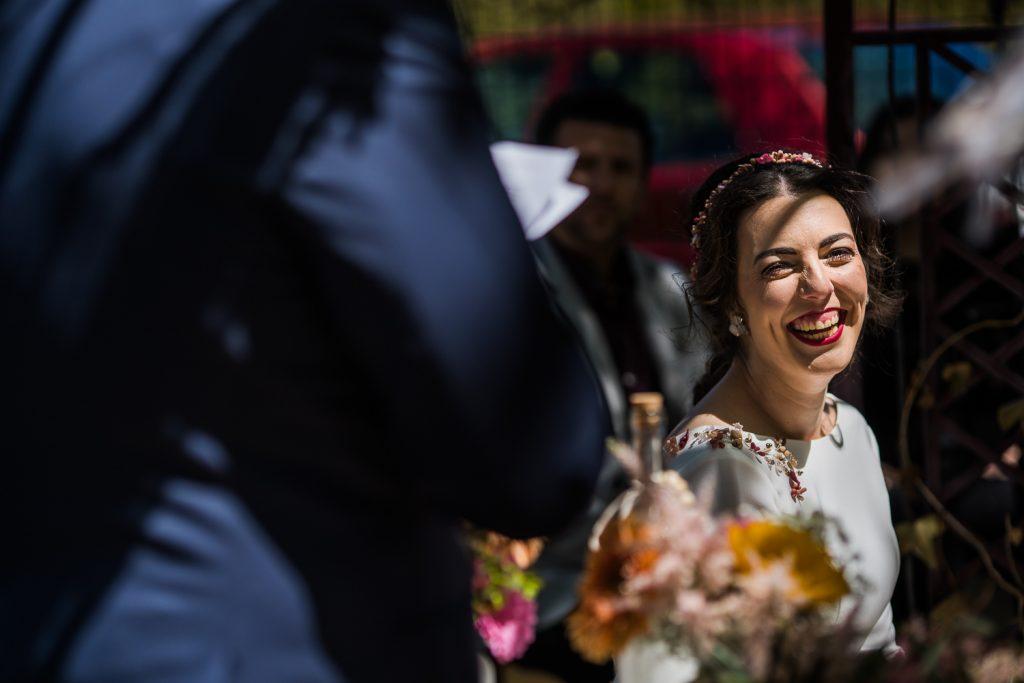 La risa de la novia