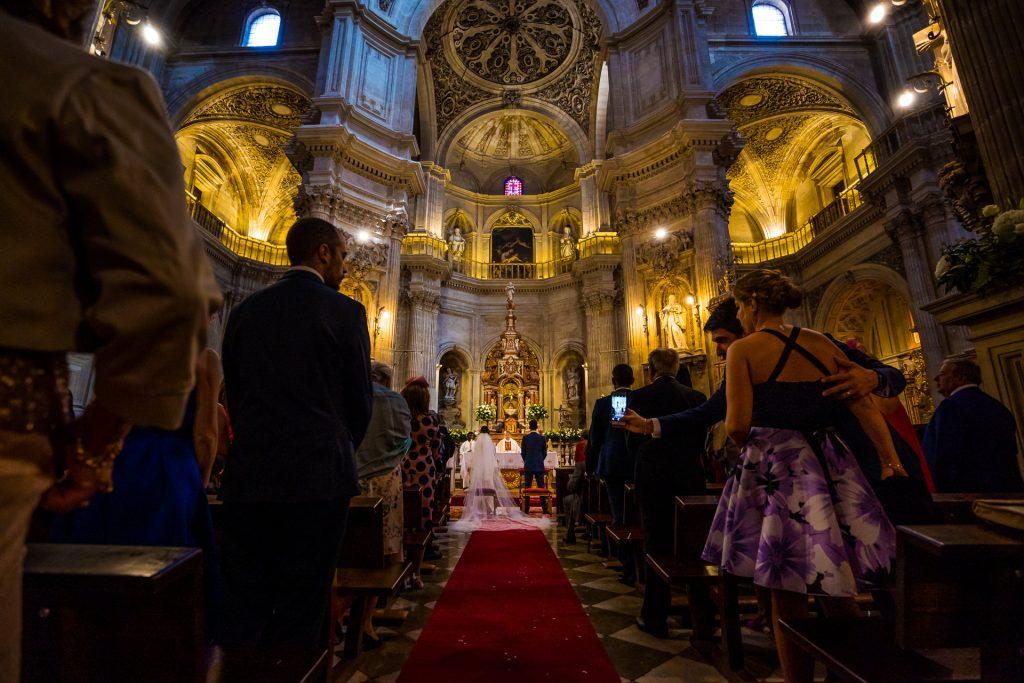 Boda Iglesia del Sagrario. Granada
